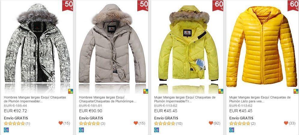 ropa de esqui barata