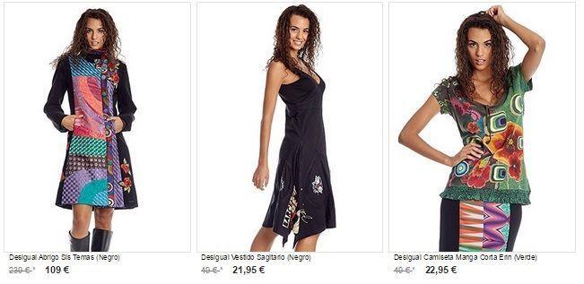 ropa desigual barata chica mujer