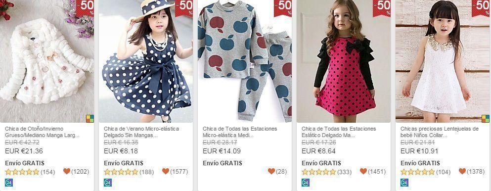 ropa barata niño