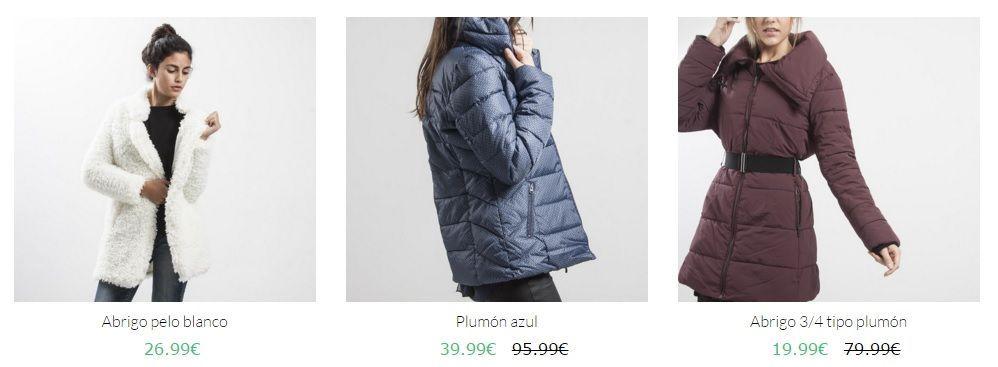 abrigos baratos de marca