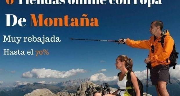 ropa de montaña senderismo y trekking barata online