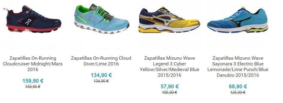 zapatillas de running para hombre baratas