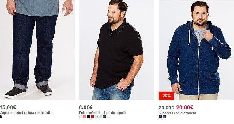 tallas grande hombre