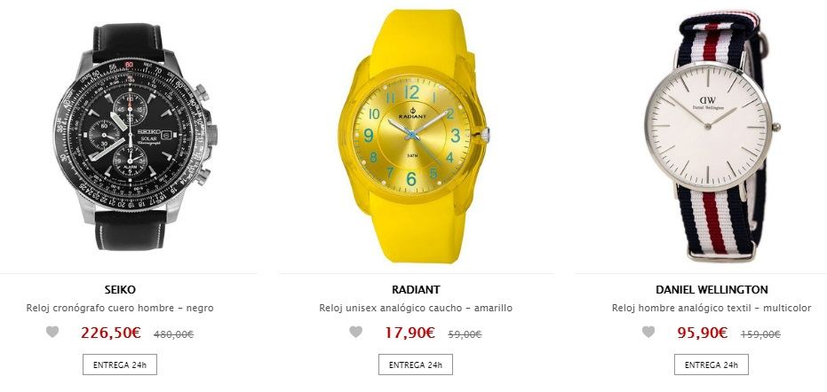 Relojes baratos – 4 Tiendas espectaculares  bf8af87d7b6a