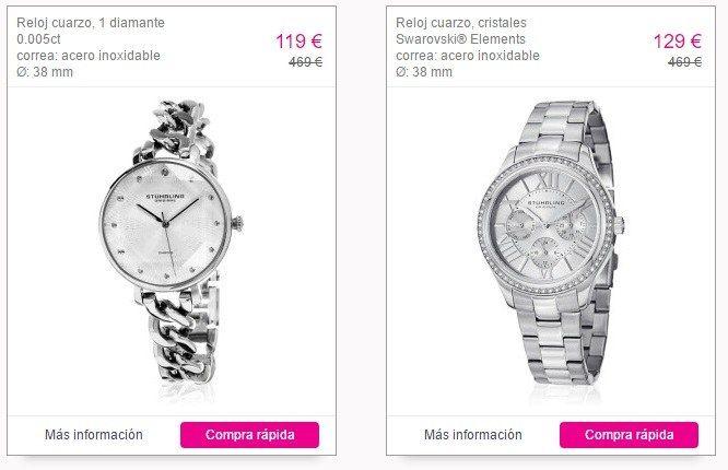 relojes de pulsera baratos