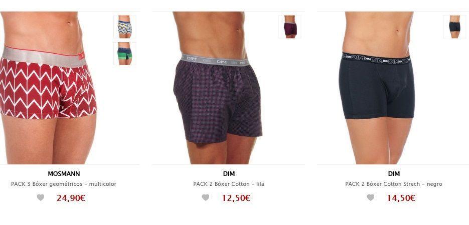ropa interior masculina barata