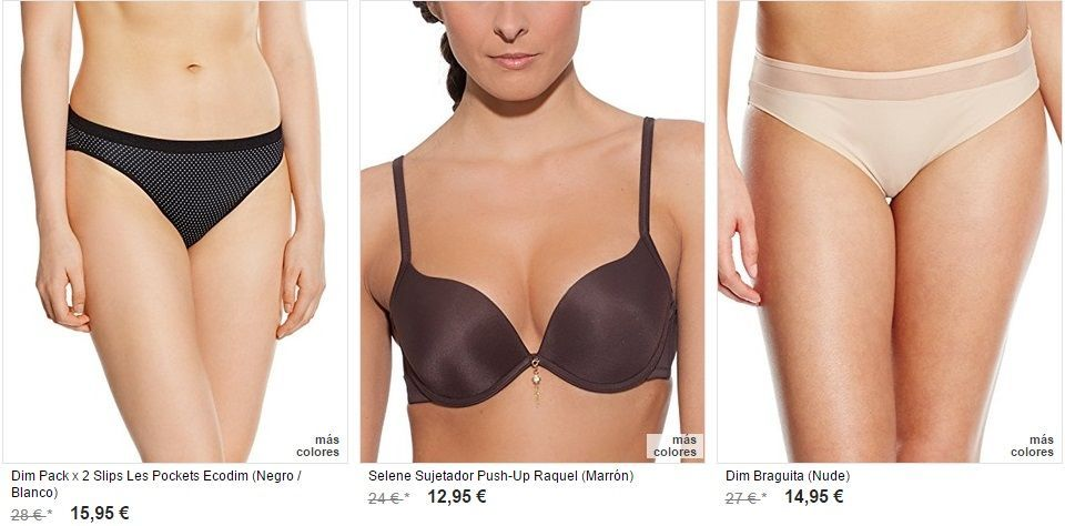 ropa intima femenina en oferta