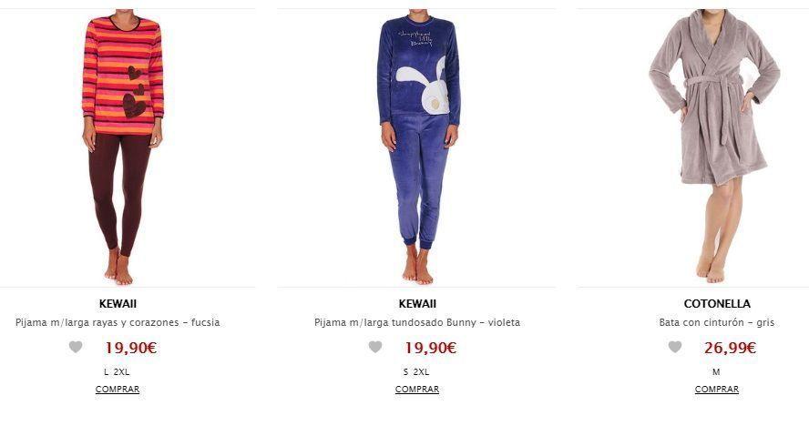 pijama mujer en oferta