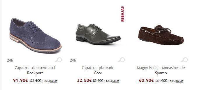 zapatos baratos online para hombre