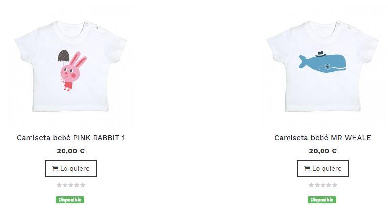 camisetas originales para bebe