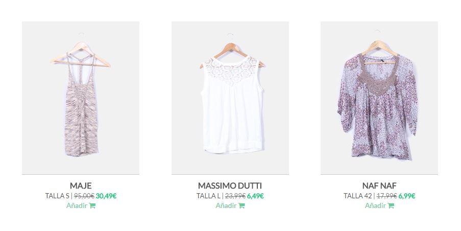 ropa de segunda mano de marca
