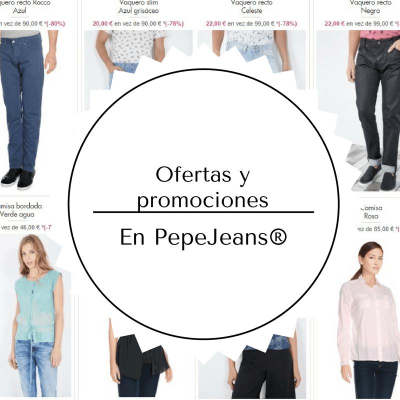 4ec25ce61 Ofertas en pantalones y ropa de pepe Jeans® [Descuentos 2018]