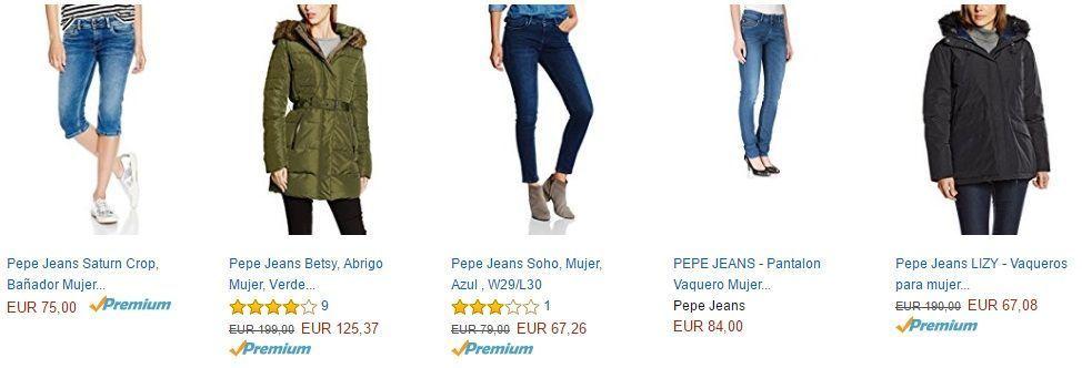 9dc163ef Ofertas en pantalones y ropa de pepe Jeans® [Descuentos 2018]