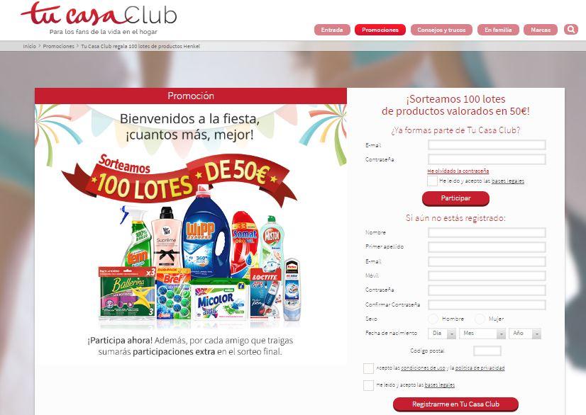muestras gratis productos de limpieza