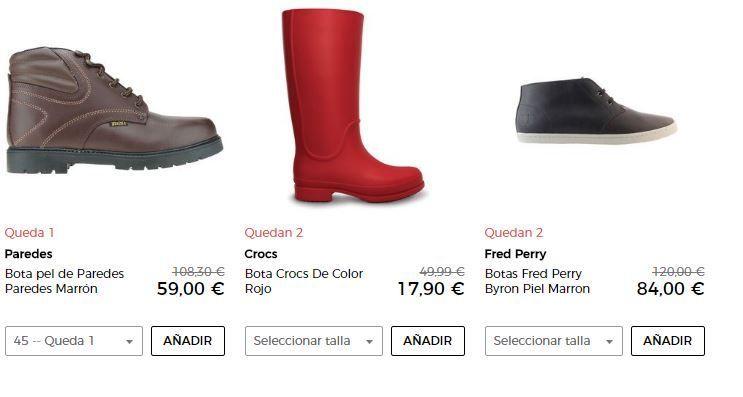 zapatos para hombre en oferta online