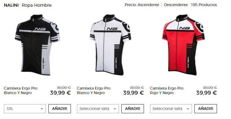 maillot de ciclismo barato