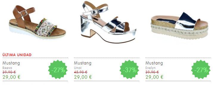 calzado femenino en oferta