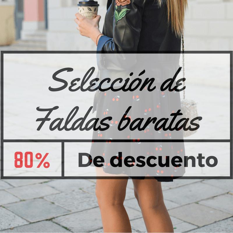 Faldas baratas - La mejor selección de ofertas en faldas online 9b9fed7890d2