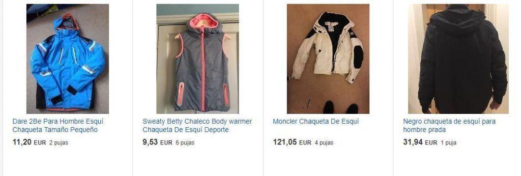 ropa de esqui barata ebay