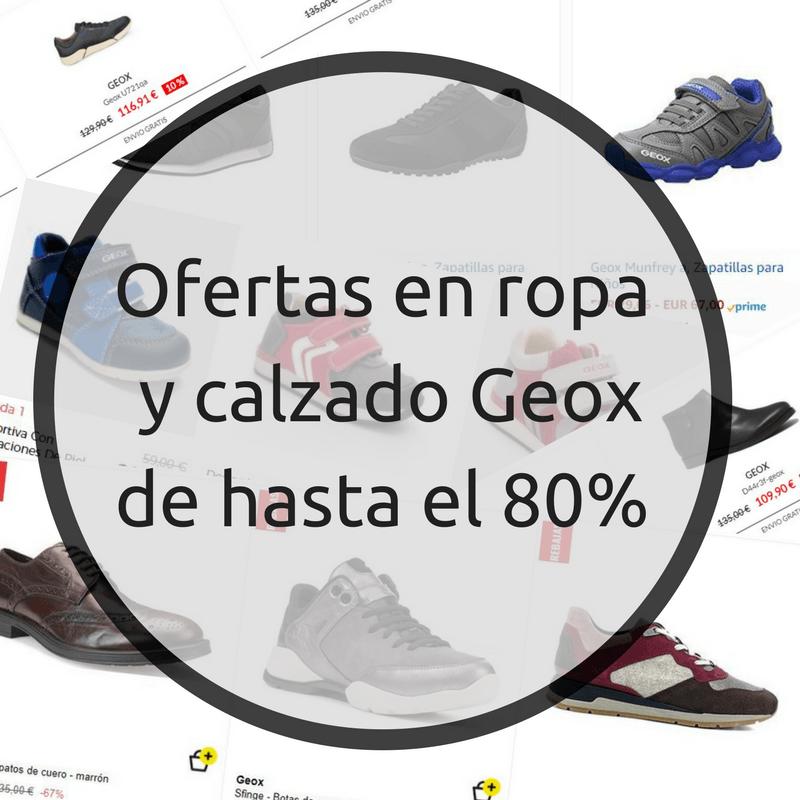 ropa y calzado geox barata