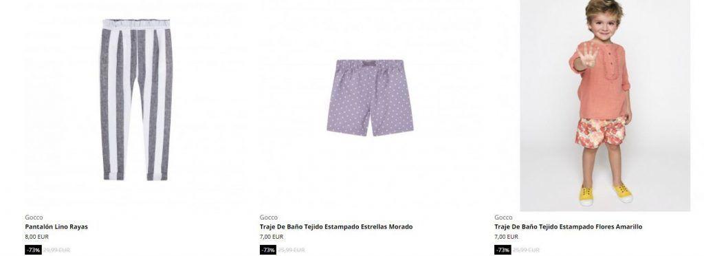ropa infantil de marca barata