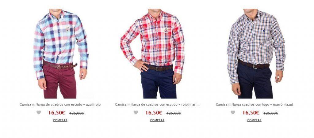 Camisas polo club baratas