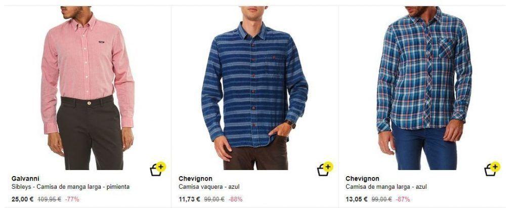 camisas de vestir para hombres baratas