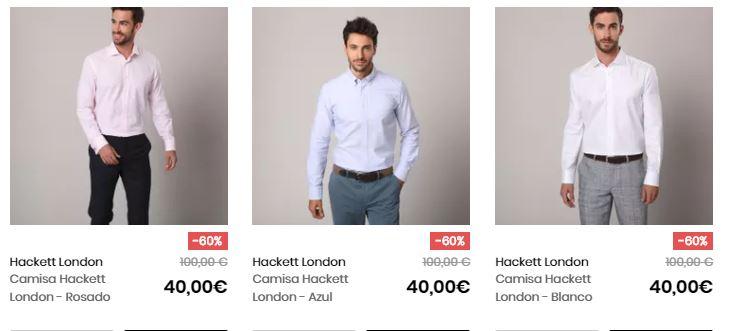 camisas hackett baratas