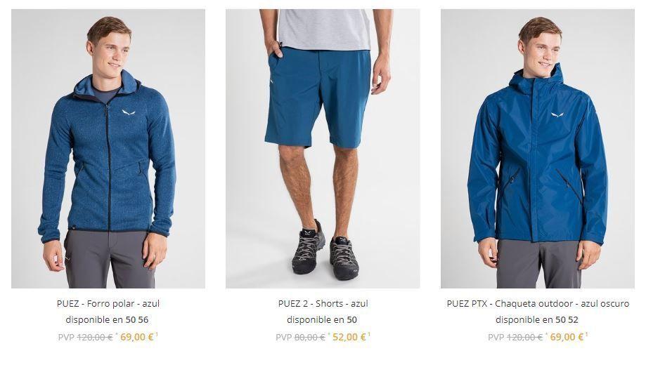ropa de senderimo de marca barata