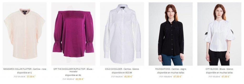 camisas de marca baratas para mujer