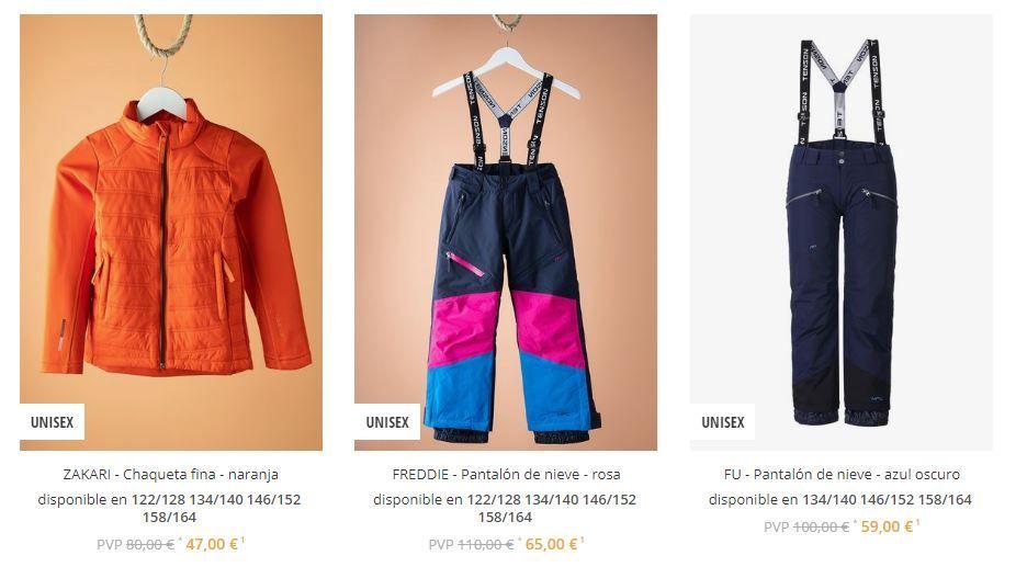 pantalones esquí baratos