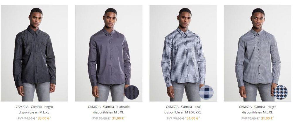 camisas para hombre rabajadas
