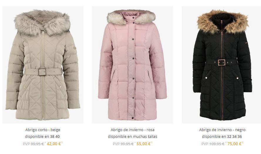 abrigos de mujer baratos online