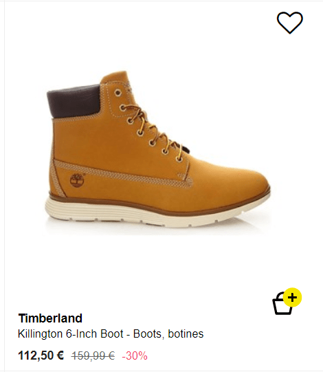 Bota Timberland hombre