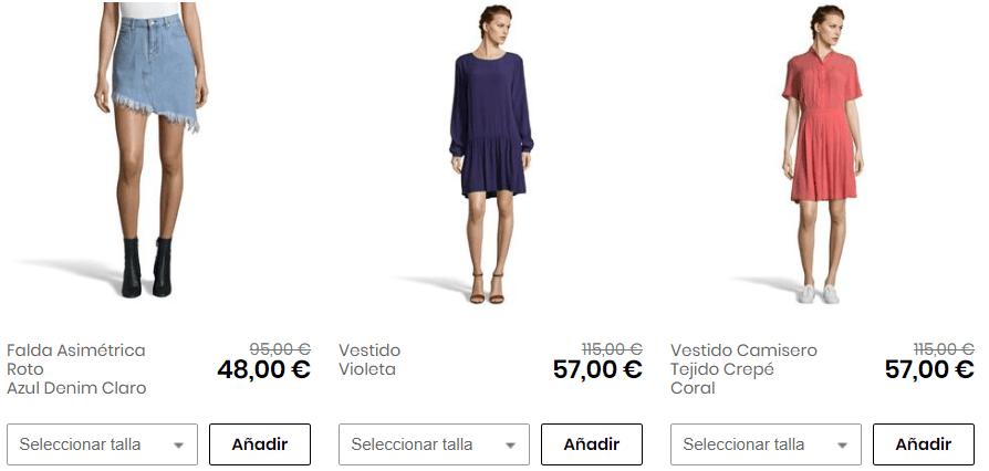 Vestidos y faldas tommy