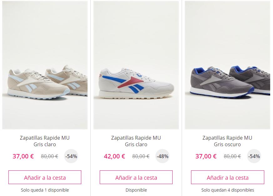 Zapatillas Reebok 50%