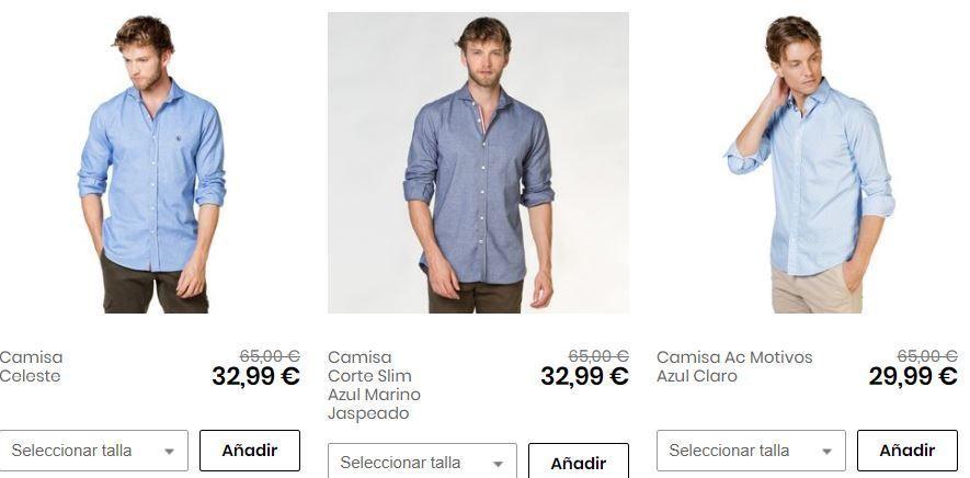 camisas el ganso baratas