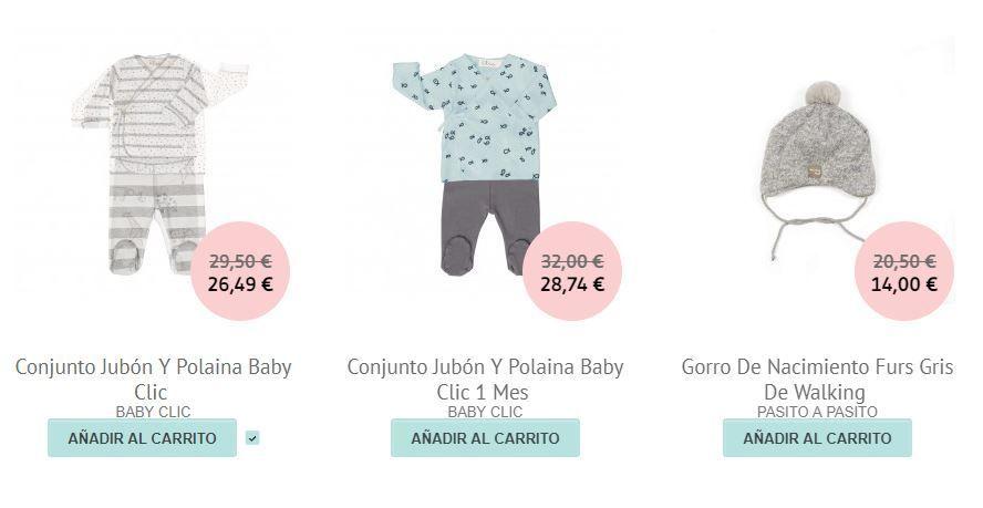 ropa de bebe rebajada