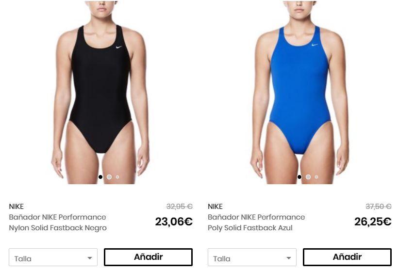 Bañador Nike barato