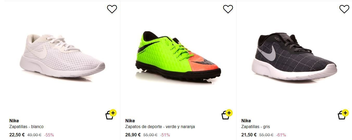 Nike chico BA