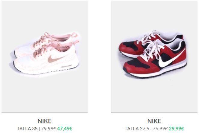 Nike segunda mano