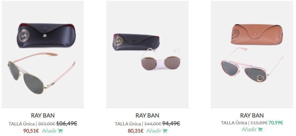 Ray Ban segunda mano bonitas