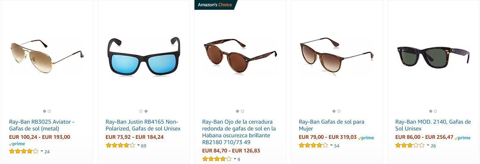 RayBan Amazon