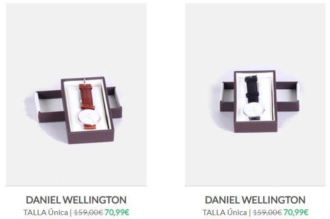 Daniel Wellington segunda mano