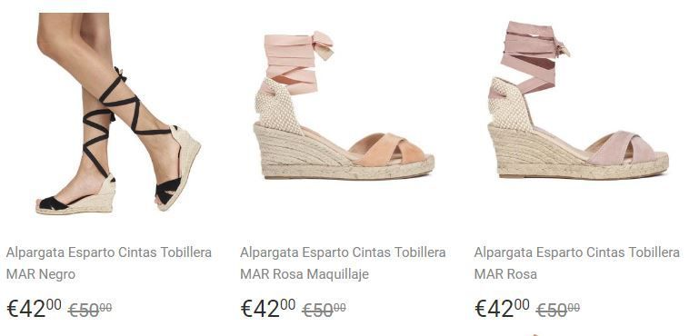 0c0009ea zapatos de cuña baratos para mujer. Mimao es una marca española ...