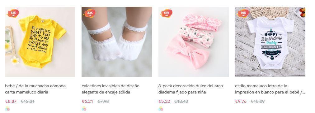ropa barata bebe de china