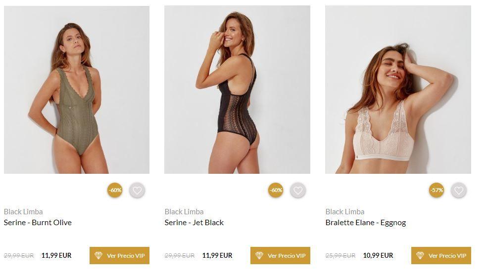 ropa interior mujer barata